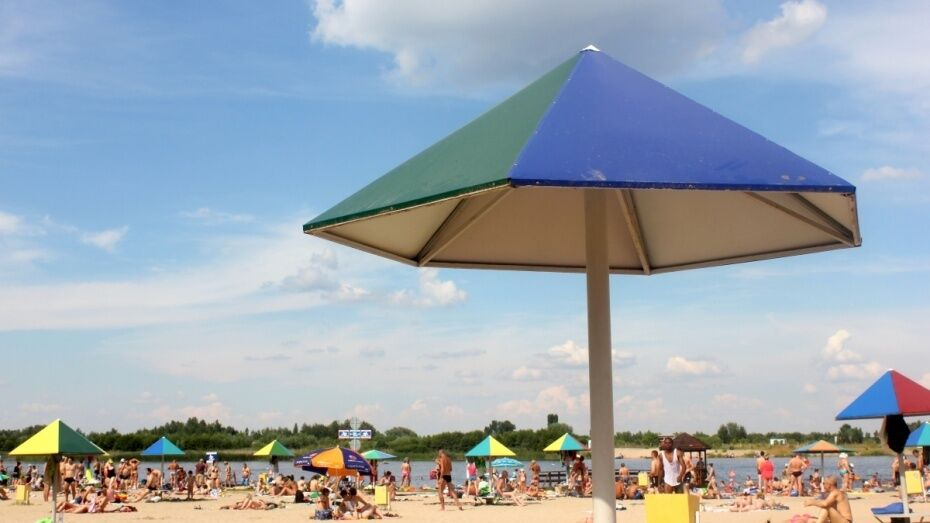 Санитарные врачи забраковали 4 пляжа в Воронежской области