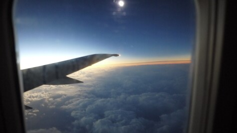 Воронежские астрономы увидели полное солнечное затмение с борта самолета