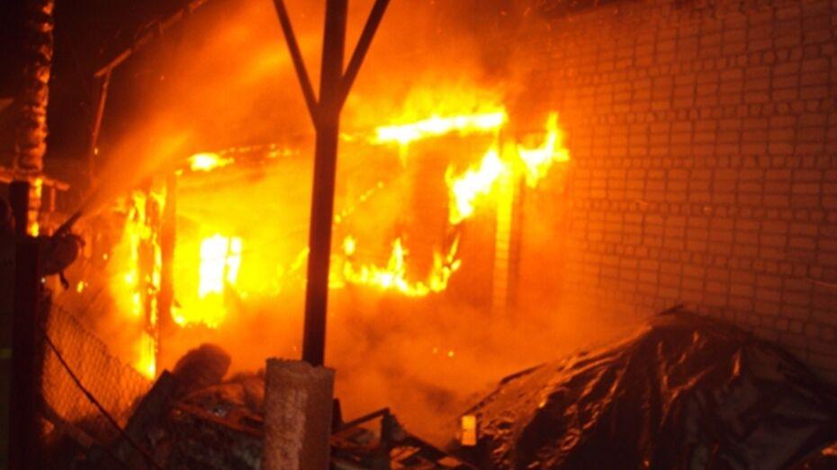 В Петропавловском районе неизвестные подожгли дом