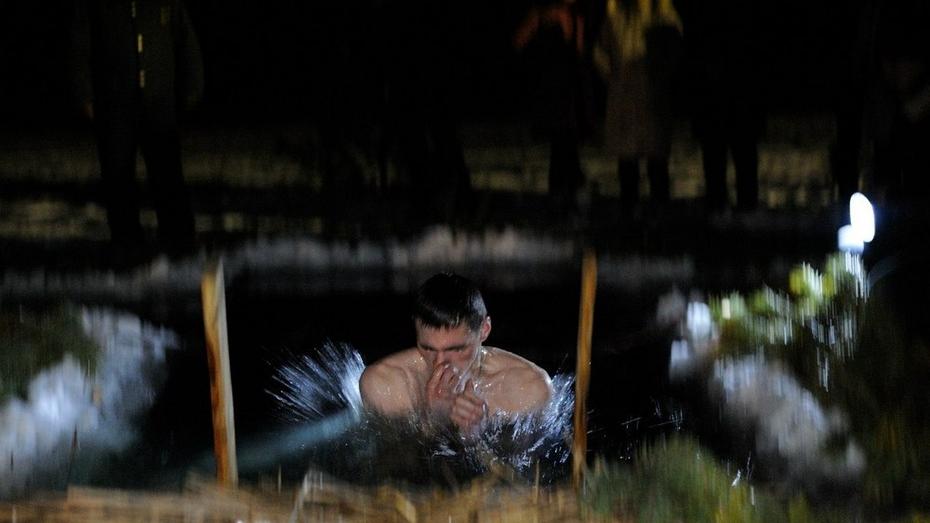 В Бобровском районе подготовили 9 мест для массовых крещенских купаний