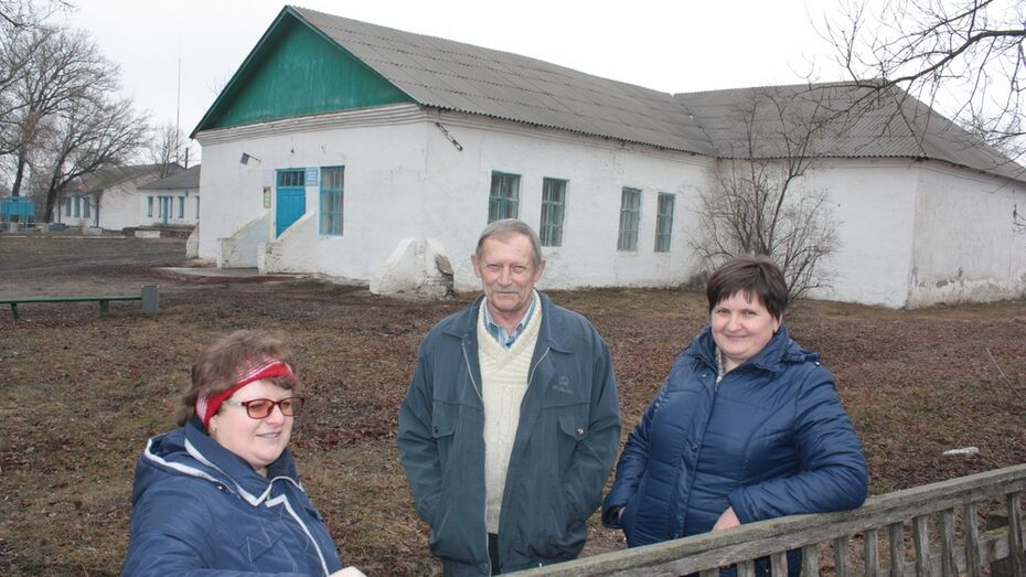 В ольховатском селе отремонтируют дом культуры