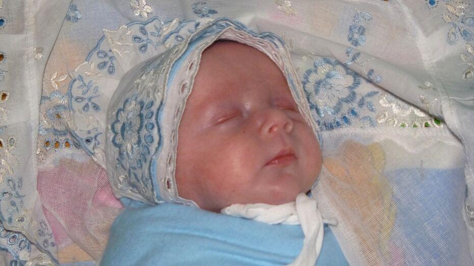 В Воронежской области за год родились 6 тыс «идеальных» детей