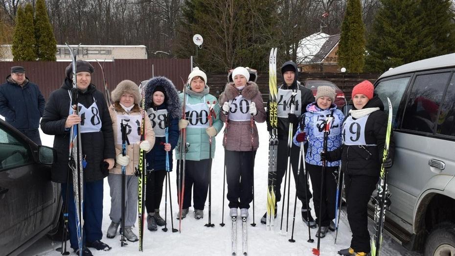 В Грибановке соревнования по бегу на лыжах пройдут 2 февраля
