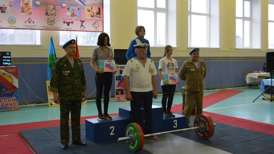 Калачеевские тяжелоатлеты получили 8 золотых медалей областных соревнований