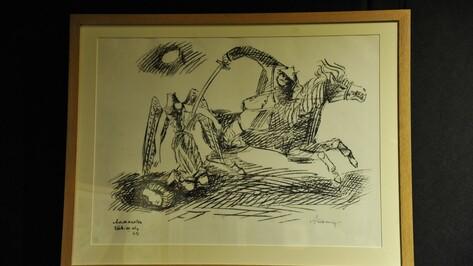 В Воронеже показали «Казненного ангела» советского художника Александра Тышлера