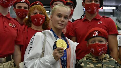 Губернатор поздравил воронежскую гимнастку Ангелину Мельникову с «золотом» чемпионата мира