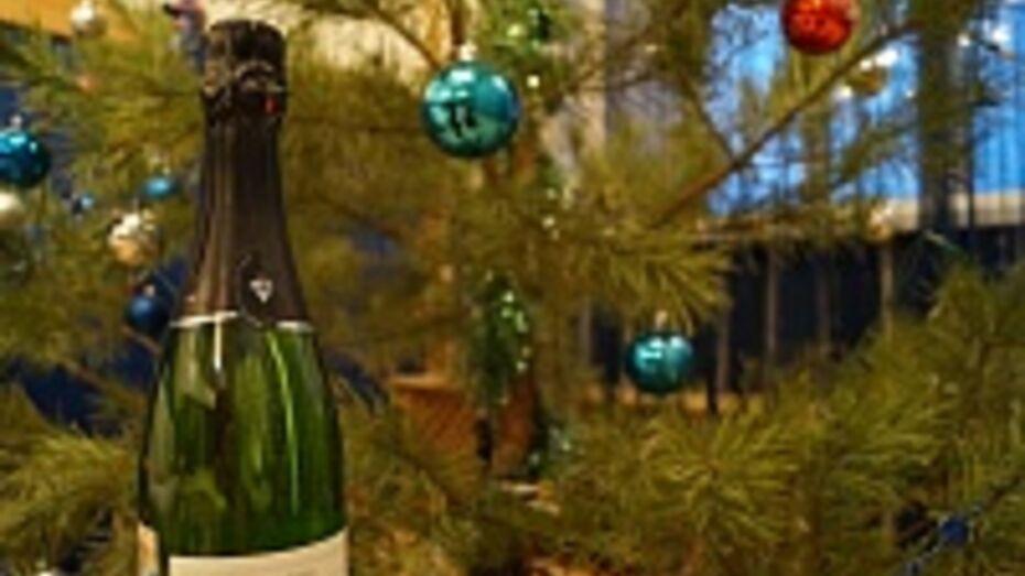 Верхнемамонец обокрал магазин 1 января из-за нехватки денег на шампанское