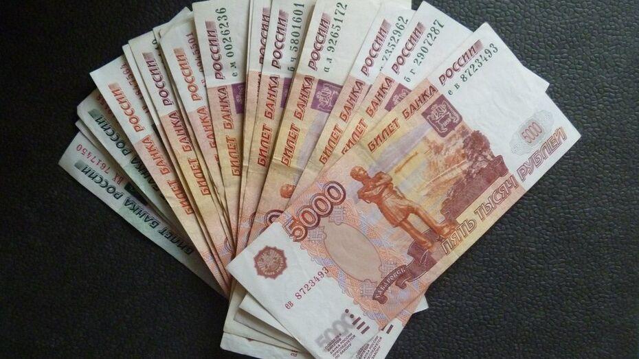 В Подгоренском районе злоумышленница украла у пенсионерки 66 тыс рублей
