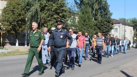 Таловчане отправились на военные сборы в Богучарский район