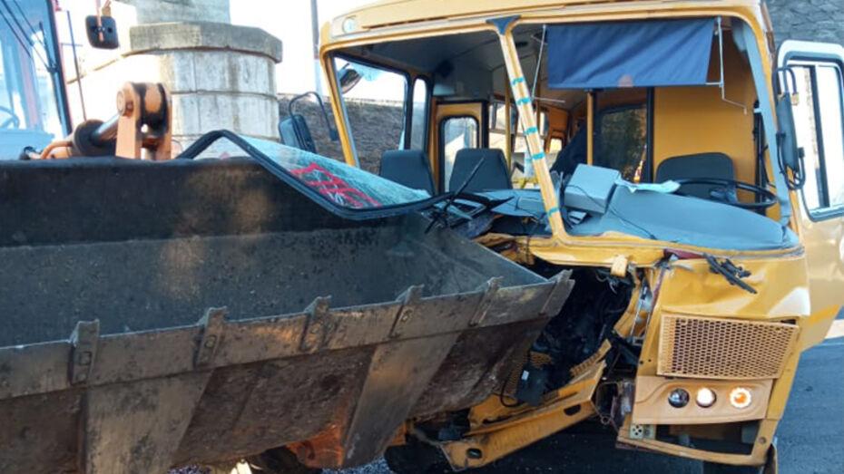 В ДТП со школьным автобусом в Воронежской области пострадали 8 человек