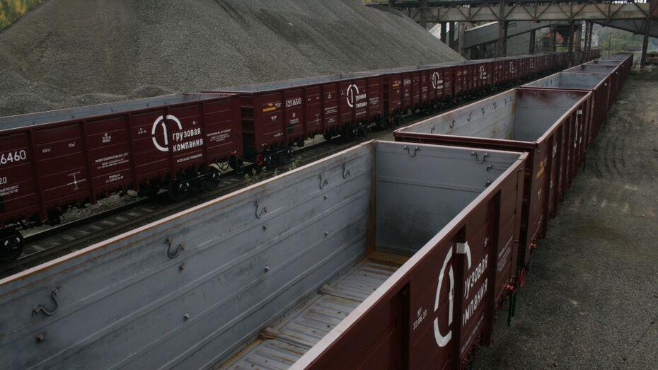 Первая грузовая компания увеличила отправки продукции предприятий Центральной России