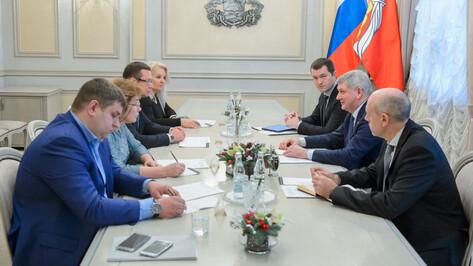 Правительство Воронежской области расширит взаимодействие с ОНФ