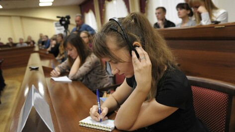 Губернатор и председатель облдумы поздравили студентов Воронежской области