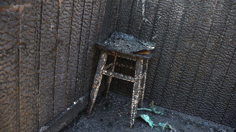 Тела 2 мужчин обнаружили после пожара в частном доме в верхнехавском селе Никоново