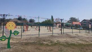 В россошанском селе Анцелович впервые появилась спортплощадка