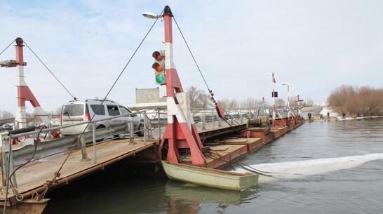 Движение по понтонному мосту в Хохольском районе возобновили