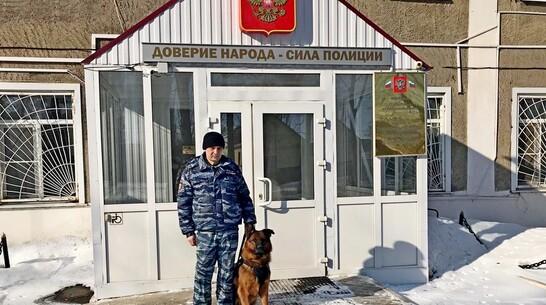 Служебный пес помог эртильским полицейским раскрыть кражу