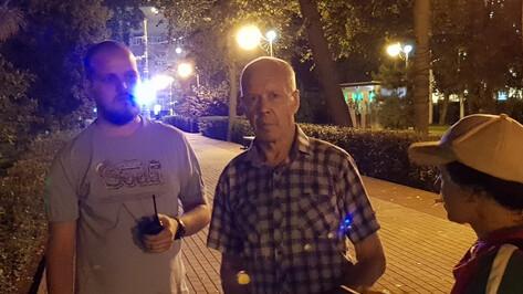 Воронежские волонтеры нашли 75-летнего инвалида при помощи камер видеонаблюдения