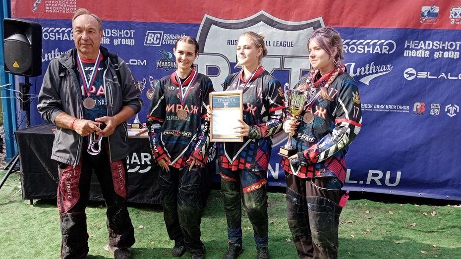 Верхнехавская женская команда победила на чемпионате России по пейнтболу