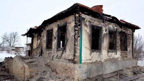 В Воронежской области при пожаре погиб 51-летний мужчина