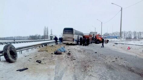 МЧС: число пострадавших в ДТП с автобусом под Воронежем выросло до 7