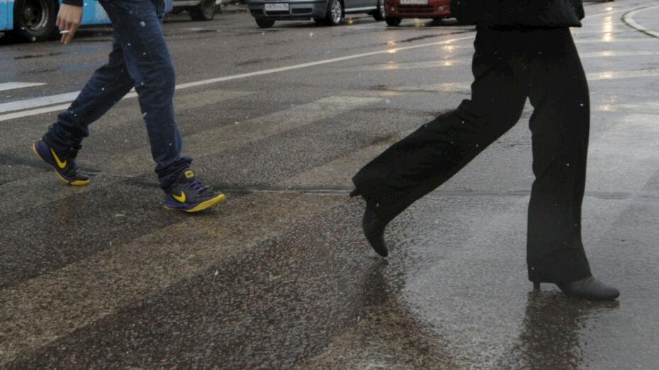 В Воронежской области грузовик насмерть сбил пешехода