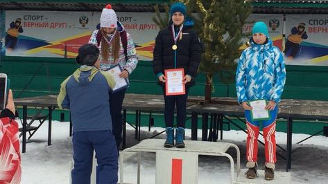 Рамонские лыжницы завоевали «золото» и «серебро» областной спартакиады