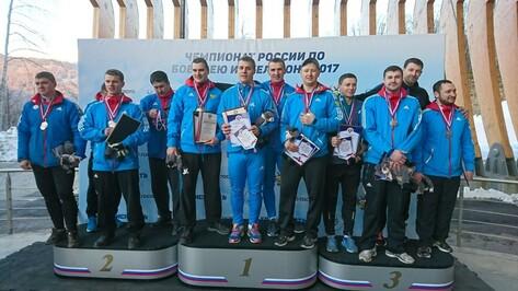 Воронежский спортсмен победил на чемпионате России по бобслею в Сочи