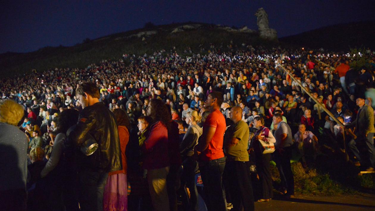 «Ночь в Дивногорье-2014» стала самой массовой за всю историю проведения акции