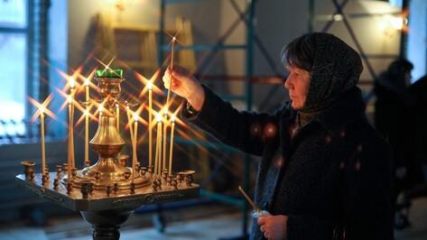 «Отстояли всем миром!» В воронежском храме на Придаче прошла первая служба