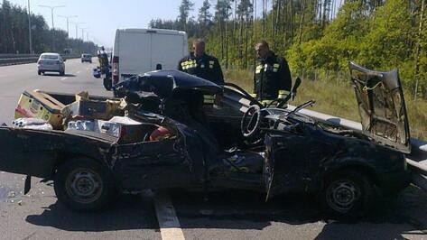 Авария на трассе в Воронеже спровоцировала 5-километровую пробку