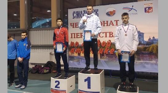 Поворинские легкоатлеты завоевали «серебро» и «бронзу» первенства ЦФО