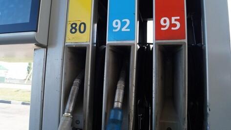 Воронеж замкнул топ-3 городов ЦФО с самым дорогим бензином