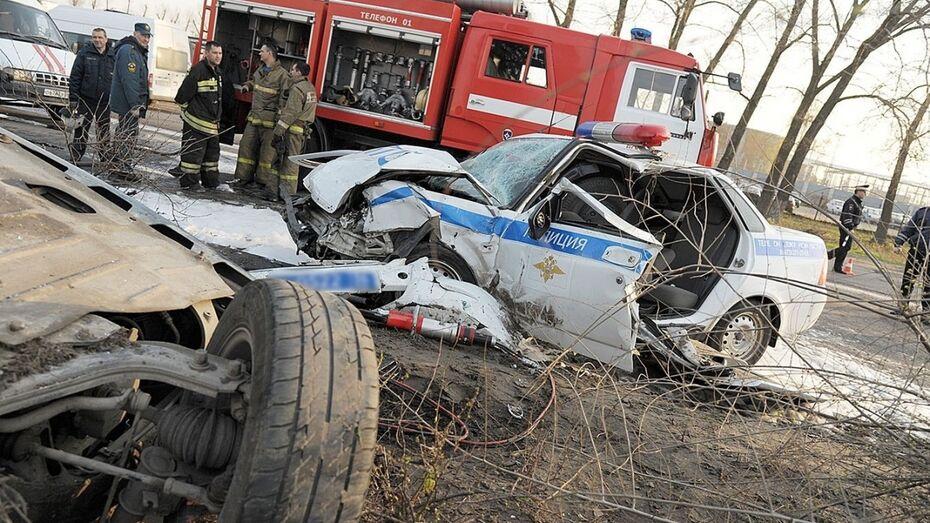 В Воронеже число жертв ДТП с участием машины ГИБДД увеличилось до четырех