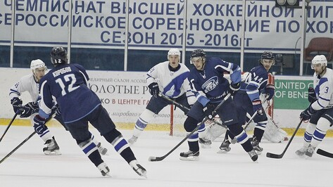 Воронежский «Буран» дома проиграл ТХК с минимальным счетом