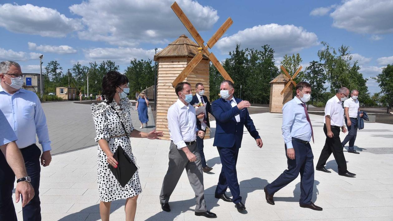 Есть на что посмотреть. Зампред Госдумы побывал на «Пеньковой Горе» в Воронежской области