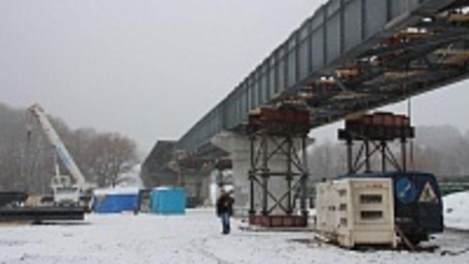 Основной мост через реку Ворону в Борисоглебске откроют этим летом