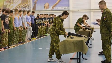 Острогожские спортсмены сдали военно-спортивные нормативы