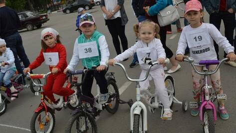 В Рамони велопробег собрал более 100 детей