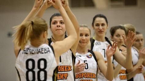 Воронежские баскетболистки обыграли «Ростов-Дон-ЮФУ»