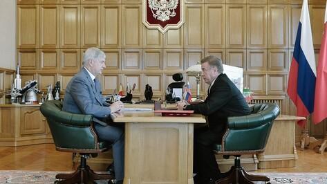 Глава воронежского Росздравнадзора вернулся в облправительство