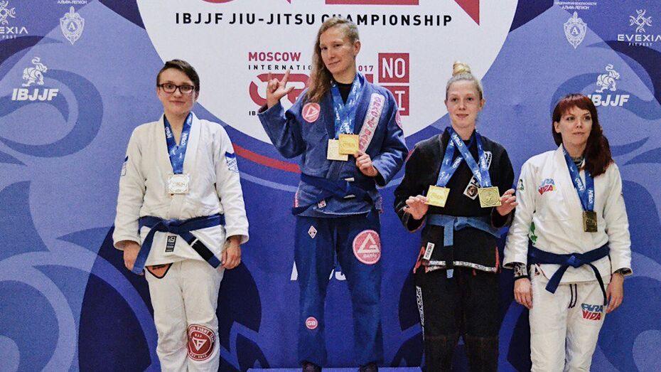Воронежская спортсменка завоевала «серебро» на международном турнире по джиу-джитсу