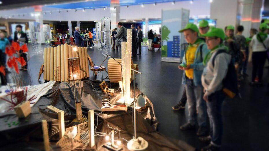 Картонные кресла и светильники из мусора. Чем удивил воронежцев «Экоград-2017»