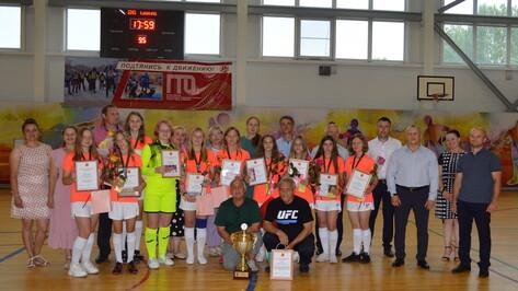 Команда из Воронежской области стала чемпионом Всероссийского турнира «Кожаный мяч»