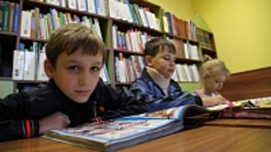 В Острогожске капитально отремонтировали детскую библиотеку