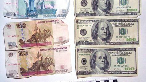 Сотрудника воронежского банка поймали на взятке в 1,4 млн рублей