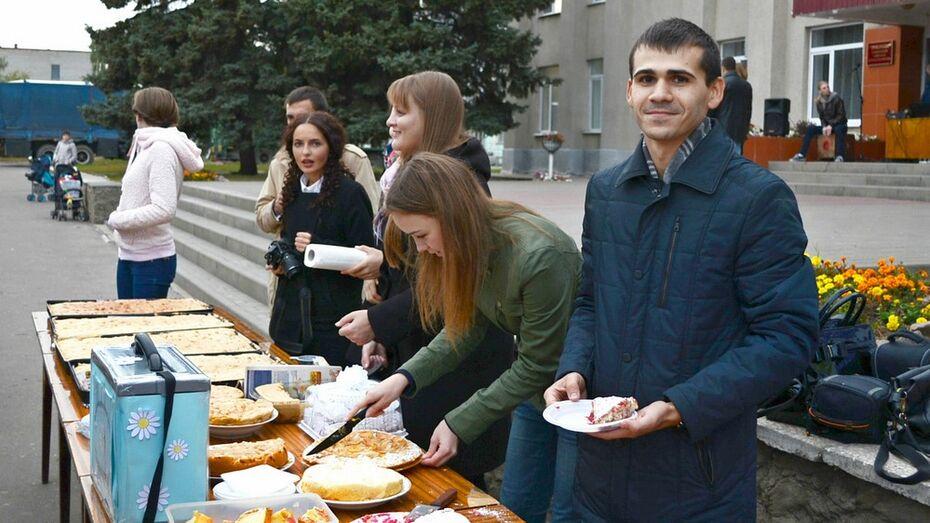 Семилукцы на фестивале собрали 8,5 тыс рублей для онкобольных детей