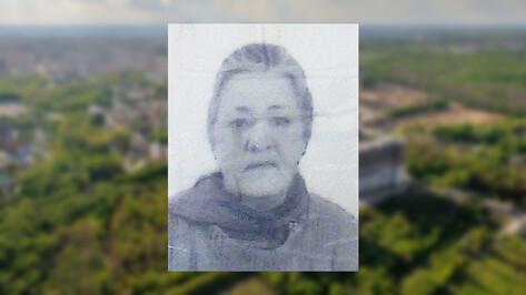 Волонтеры сообщили о пропаже 64-летней жительницы Воронежской области