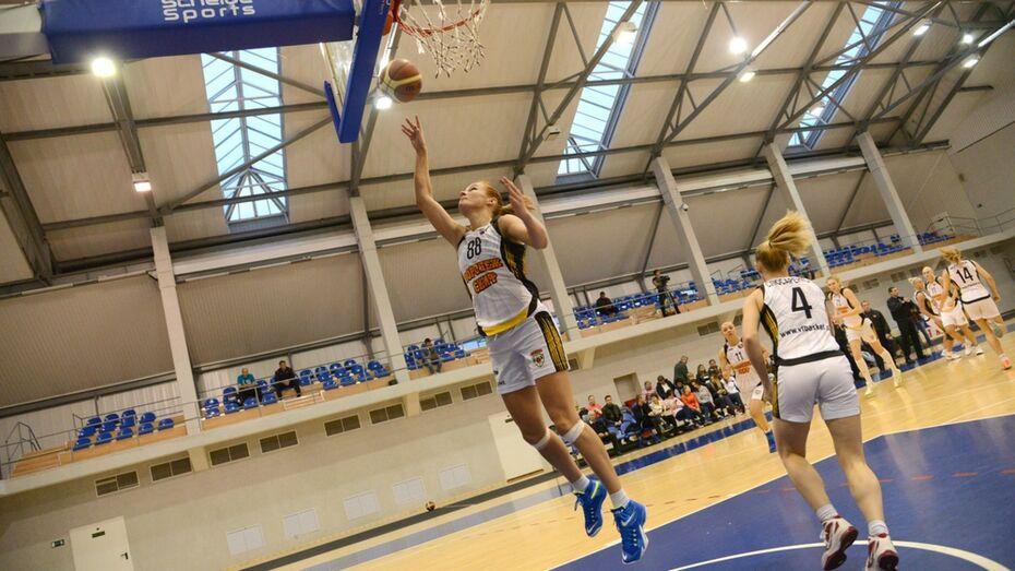 Воронежские баскетболистки проиграли в Москве