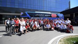 Футболисты сборной Марокко поблагодарили воронежцев за гостеприимство